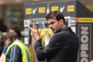 Inter Milan's coach Andrea Stramaccioni