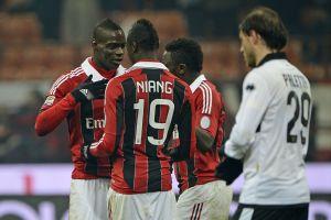 Milan-Parma serie A